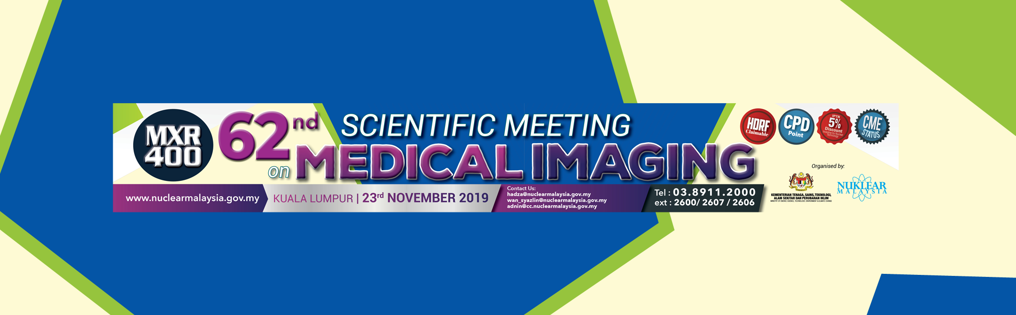 62ND SCIENTIFIC MEETING ON MEDICAL IMAGING